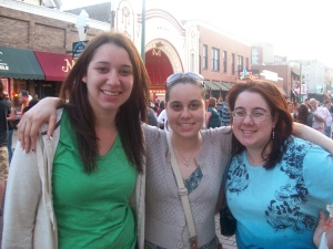 Last night on Beale Street with my sisters
